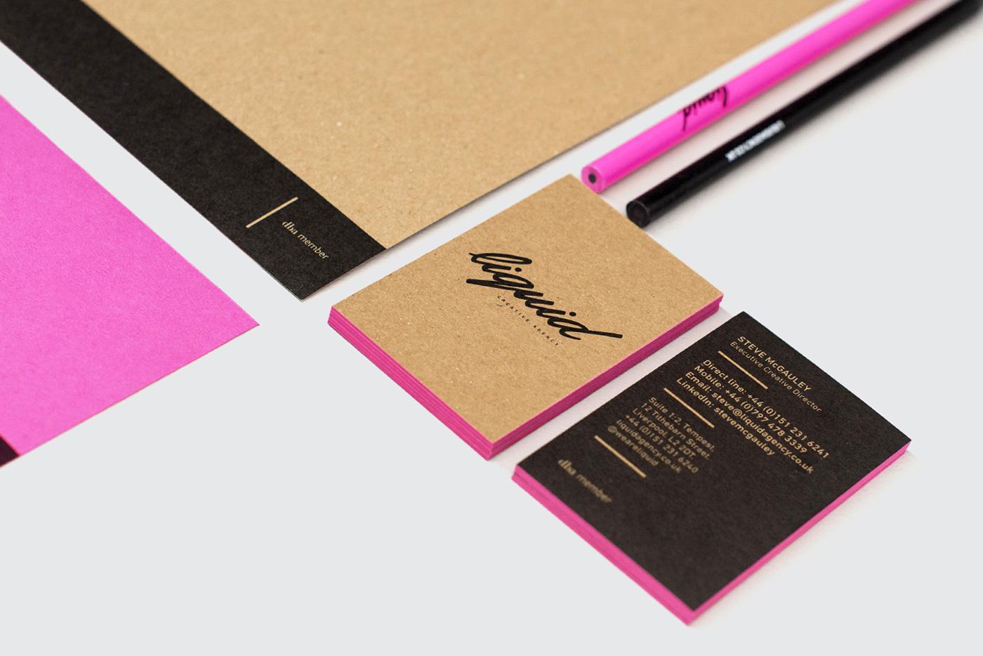 Liquid Rebrand - Graphic Design