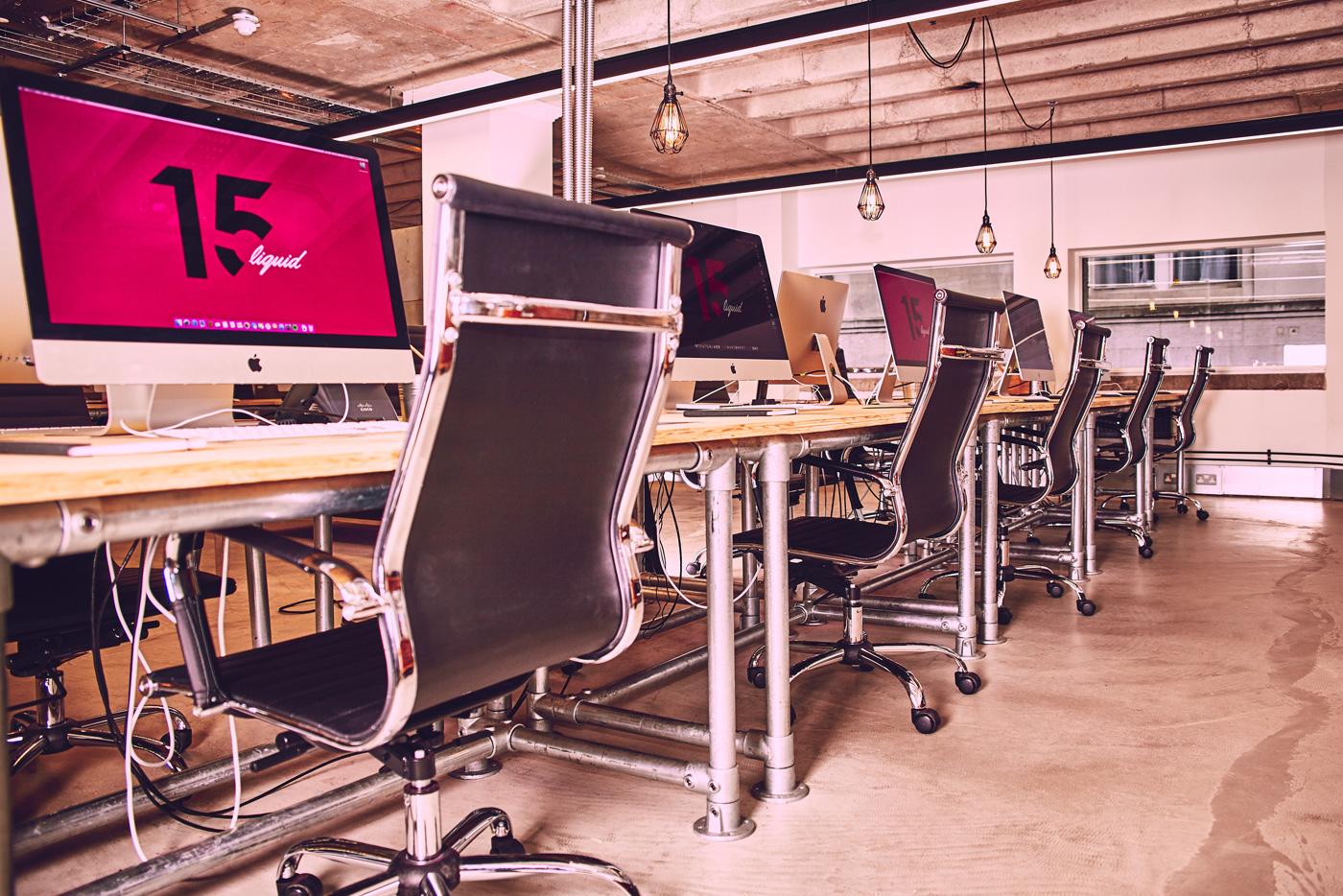Liquid Rebrand - Interior Design