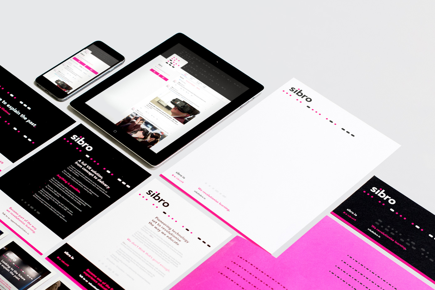 Sibro launch and branding - by freelance Graphic Designer Chris Nixon